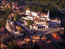 View of Sintra From Above at Sunset