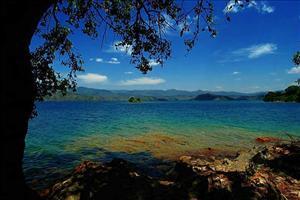 view across lake kivu