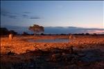 Twilight waterhole