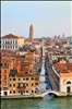 Venice and the leaning tower