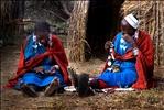 Old Maasai Girls - Redux