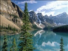 Wenkchemna Peaks and Moraine Lake, Valley of the Ten Peaks, Banff National Park, Alberta