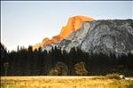 Yosemite : Half dome sunset