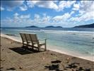 Front d'Océan à Anse Banane (La Digue)