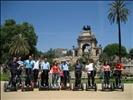 De visita en Segway al Parque de la Ciutadella