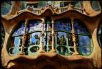 fragment of casa Batllo, Barcelona