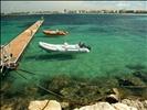 Small pontoon off Alghero Pier