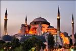 Hagia Sophia, Istanbul at dusk