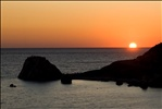 Sunset at Petra Tou Romiou