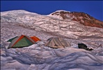Sunrise on the Summit from Base Camp