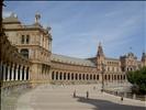 20070514 Seville: Plaza de Espana, courtyard