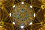 Ceiling of Emirates Palace Hotel in Abu Dhabi