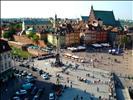 Plac Zamkowy, Warszawa - The Castle Square, Warsaw, Poland