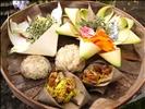 Offerings, Goa Gajah temple @ Gianyar, Bali