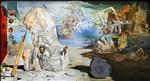 Apothease des Homer (Tagtraum von Gala) by Salvidor Dali