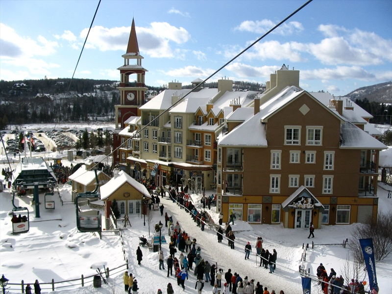 Mont tremblant for Lac miroir mont tremblant