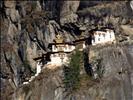 Guru Rinpoche's Tiger's Nest, Taktsang Monastery, on the cliffside, Bhutan