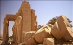 """The """"Ozymandias Collossus"""", Ramesseum, Luxor, Egypt"""