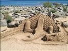 Sand dragon in Maspalomas