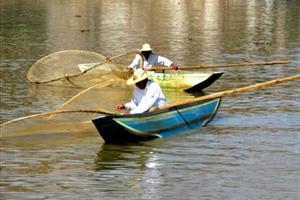 butterfly fishermen on Patzcuaro Lake