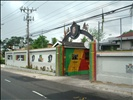 Entrance to Bob Marley's museum