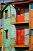 Colorful contrasts in Buenos Aires