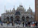 Saint Mark's Basilica Facade, Venice, Italy