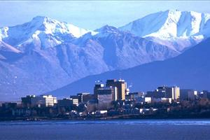 views across anchorage