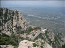 Montserrat Monestery From Above