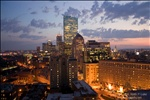 Boston at Dusk - from the Otherwise Unremarkable Radisson Hotel