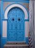 door in the souq in sousse