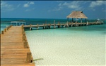 I'd rather take care of this pier on Isla Contoy than shovel snow from my Alaska driveway!