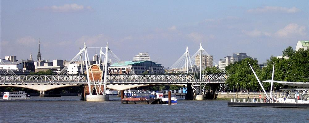 Take a cruise on the Thames