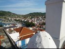 View from Rooftop on City of Skopelos, Greece