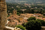 View on the village Grimaud