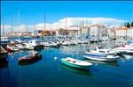 Piran's small harbour