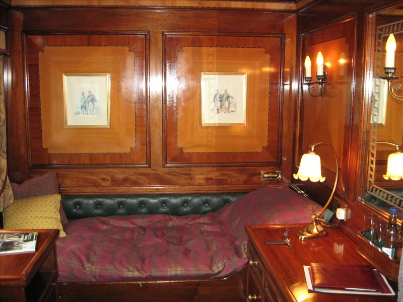 The royal scotsman for Trans siberian railway cabins