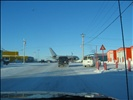 Airbus A380 at Iqaluit airport