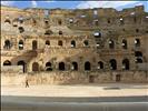 intérieur de l'amphithéatre romain d'El Jem