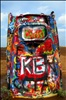 2006-08-22 - Road Trip - Day 30 - United States - Texas - Amarillo - Cadillac Ranch - Graffiti
