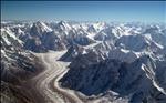 Baltoro Glacier from the Air