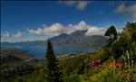 Bali – Aerial view of Lake Batur