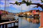 Houses and boats in Port Grimaud