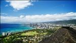 Honolulu (Viewed form Diamond Head Crater Observation Station)