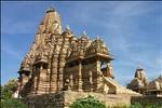 Temple at Khajuraho, Madhya Pradesh, India