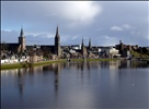 River Ness - Inverness Scotland from Friars Bridge