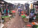 allée du marché de Djougou