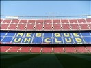 Camp Nou during the daylight