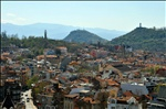 View from Nebet Tepe hill, Plovdiv