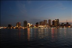 New Orleans Skyline from the Mississippi...